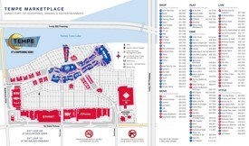 Tempe marketplace map