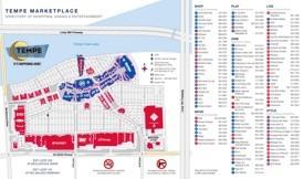 Tempe Marketplace Map Tempe Maps | Arizona, U.S. | Maps of Tempe