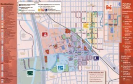 Tucson tourist map