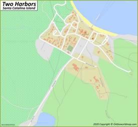 Two Harbors Maps