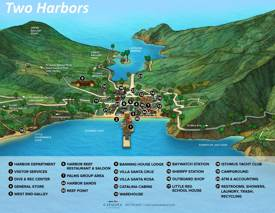 Two Harbors Tourist Map
