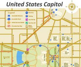 United States Capitol Map