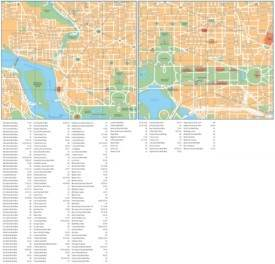 Washington, D.C. street map