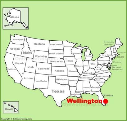 Map Of Wellington Florida.Wellington Maps Florida U S Maps Of Wellington