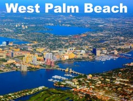 West Palm Beach maps