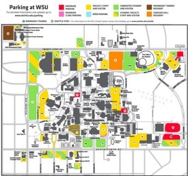 Wichita campus map