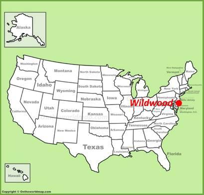 Wildwood Location Map
