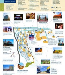 Wilmington riverfront map