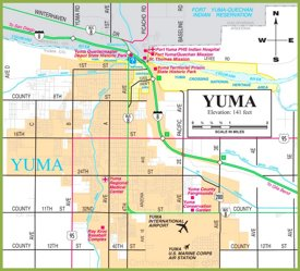Yuma road map