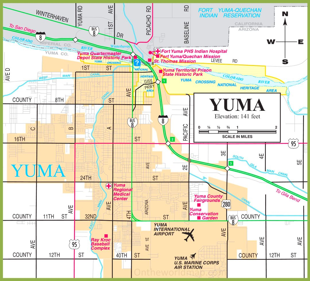 Yuma road map Yuma Map on los angeles map, baja california map, tucson metro area map, san antonio map, el paso map, avondale map, chandler map, blackfoot map, brownsville map, chicago map, flagstaff map, beckley map, cheyenne map, scottsdale map, del rio map, hopkinsville map, sedona map, tucson region map, las vegas map, cedartown map,