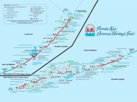 Florida Keys Overseas Heritage Trail Map