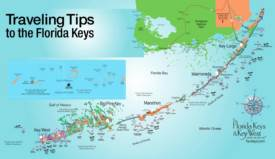 Florida Keys Tourist Map