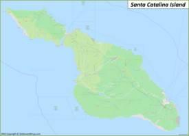 Santa Catalina Island Maps