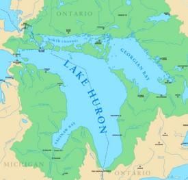 Lake Huron Maps