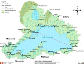 Lake Superior Maps