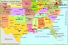 Usa Maps Maps Of United States Of America Usa Us - Us-map-com