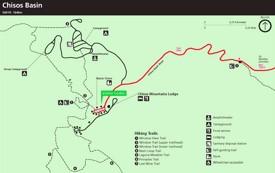 Big Bend Chisos Basin Map