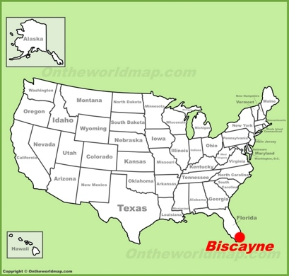Biscayne National Park Maps USA Maps of Biscayne National Park
