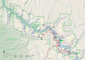 Black Canyon of the Gunnison trail map