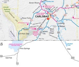 Carlsbad Caverns Maps USA Maps of Carlsbad Caverns National Park