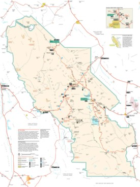 Death Valley Maps USA Maps of Death Valley National Park
