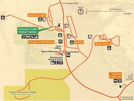 Furnace Creek Map