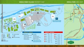 Denali Park Village Map