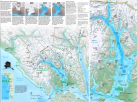 Glacier Bay National Park tourist map