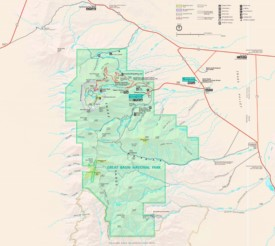 Great Basin tourist map