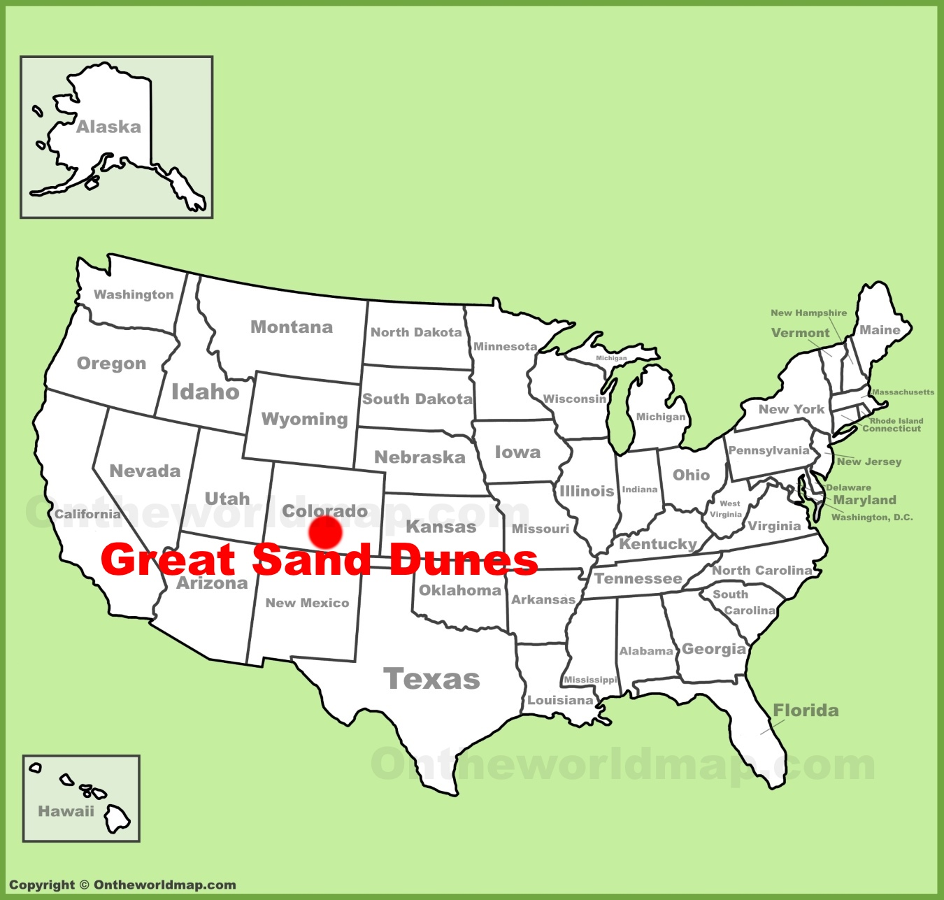 Great Sand Dunes Maps | USA | Maps of Great Sand Dunes ... on california national park map, sand flats campground calaveras county, canyons national park map, moon national park map, colorado map, volcanoes national park map, mexico national park map, sand creek colorado, namibia map, river national park map, grasslands national park map, v&t railroad map, black canyon of gunnison map, namib desert map, garden of the gods map,