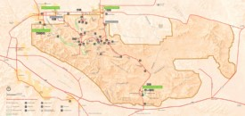 Joshua Tree National Park camping map