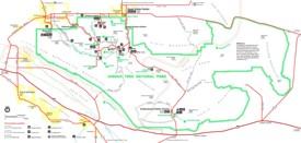 Joshua Tree National Park tourist map