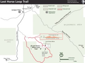 Lost Horse Loop Trail Map