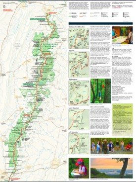 Shenandoah National Park trail map