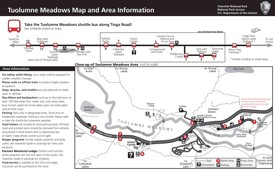 Yosemite Tuolumne Meadows Area map