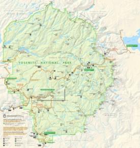Yosemite trail map