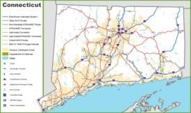 Connecticut road map