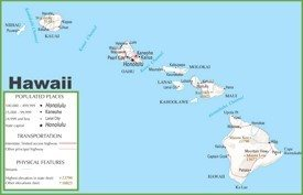 Hawaii State Maps USA Maps of Hawaii Hawaiian Islands