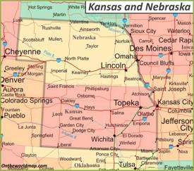 map of western nebraska Nebraska State Maps Usa Maps Of Nebraska Ne map of western nebraska