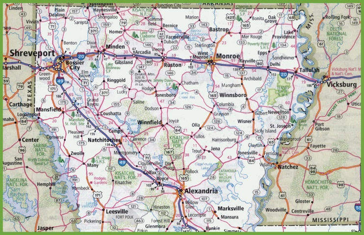 alabama state map cities with Map Of Northern Louisiana on 170224114201231802228816 in addition Louisiana River Map also Usa Temprature February furthermore Kaart Verenigde Staten Van Amerika En also Free Printable Maps State Alabama Road Map Printables340.