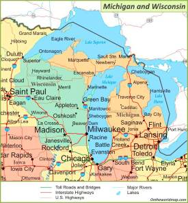 show wisconsin on us map Wisconsin State Maps Usa Maps Of Wisconsin Wi
