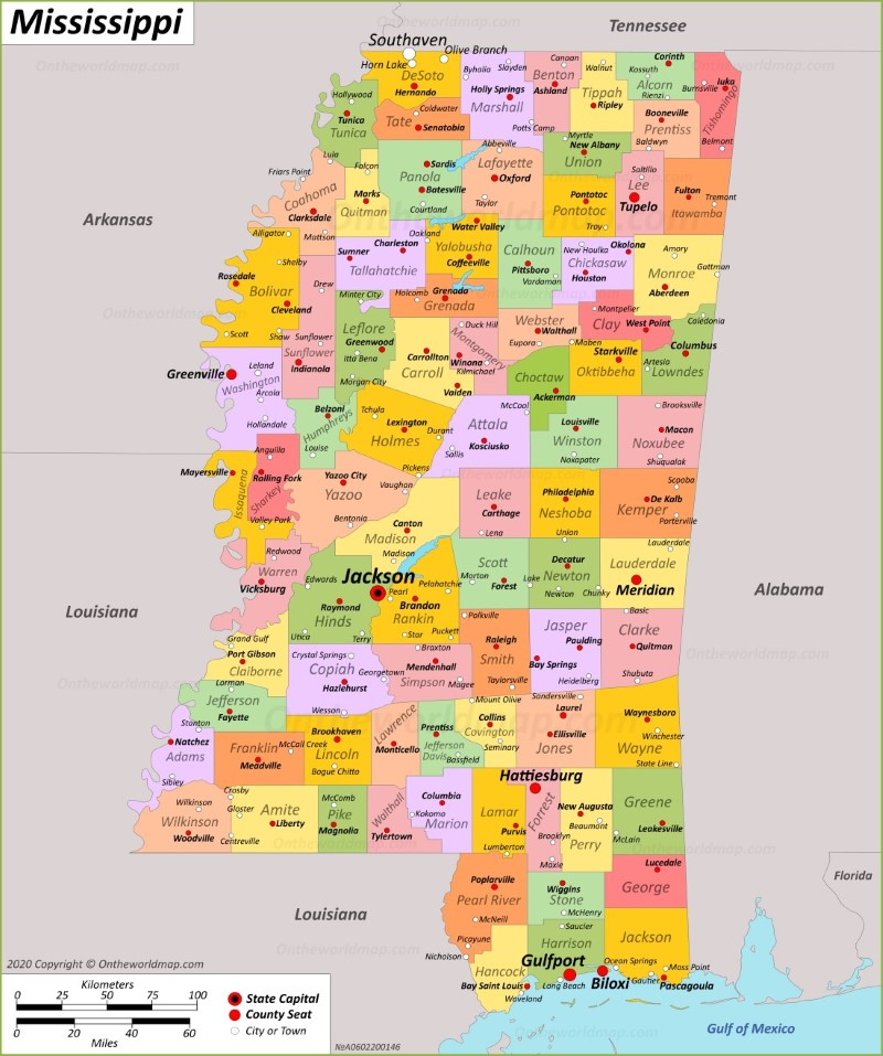 mississippi maps with counties and cities Mississippi State Maps Usa Maps Of Mississippi Ms mississippi maps with counties and cities
