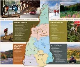 New Hampshire trails map