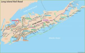 Long Island Rail Road Map