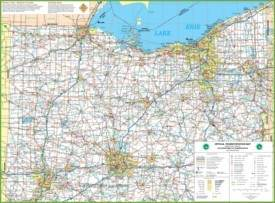 Map of Northern Ohio