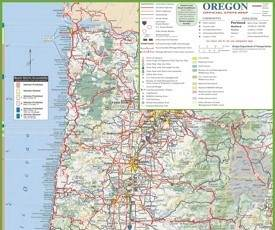 Oregon State Maps USA Maps Of Oregon OR - Usa map oregon