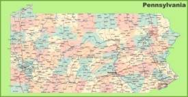 Pennsylvania State Maps | USA | Maps of Pennsylvania (PA)