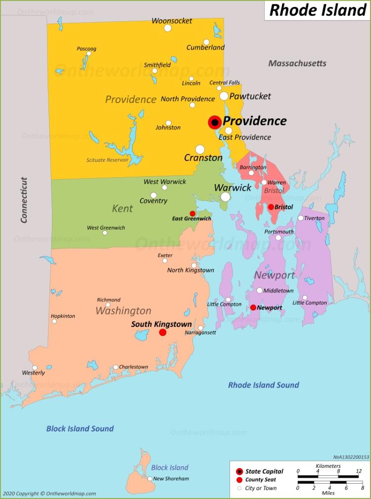 rhode island city map Rhode Island State Maps Usa Maps Of Rhode Island Ri rhode island city map