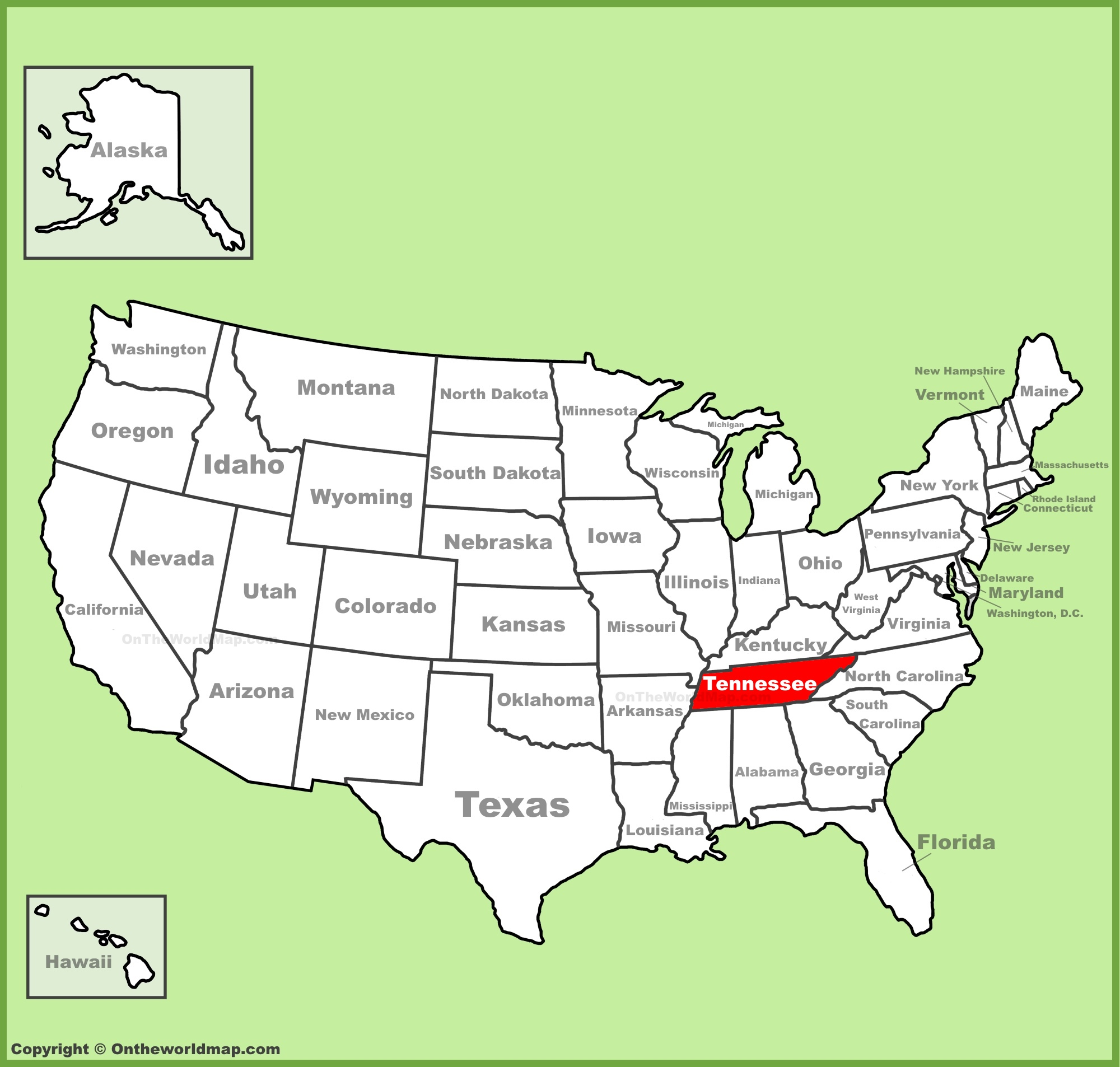 Tennessee Map Us Tennessee State Maps | USA | Maps of Tennessee (TN) Tennessee Map Us