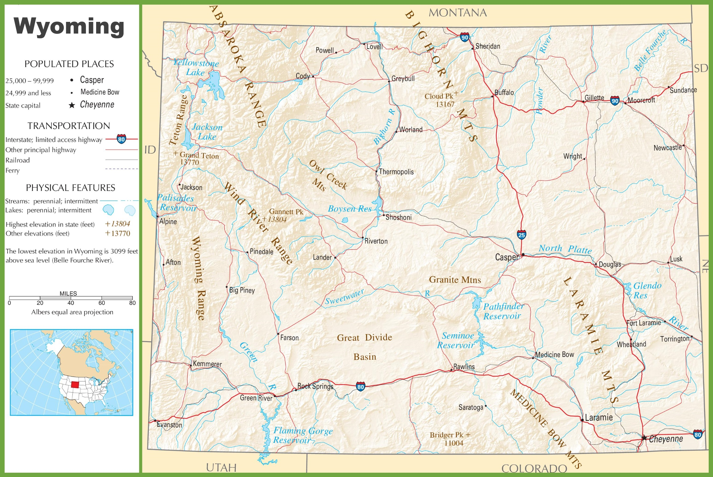 West US Map California USA RoadHighway Maps City Town Information - Usa road map california